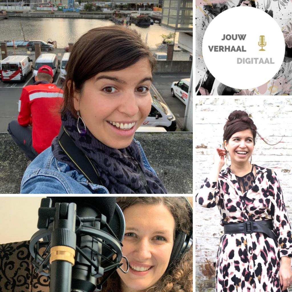 Dora gasia, bpost, jouw verhaal digitaal, podcast